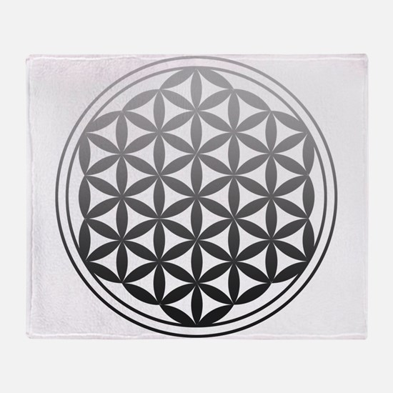 flower of life2 Throw Blanket
