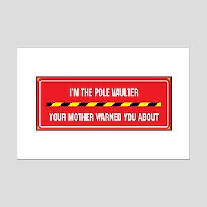 I'm the Vaulter Mini Poster Print