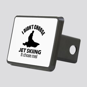 I didn't choose skiing Rectangular Hitch Cover
