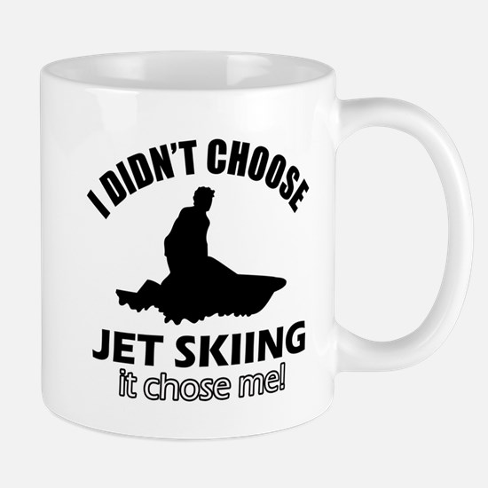 I didn't choose skiing Mug