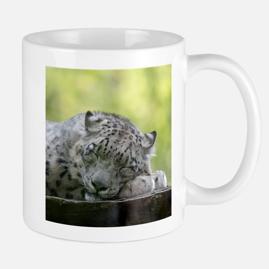 Cute Snow leopard Mug