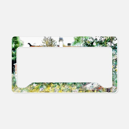 Carl Larsson, The Cottage, Sw License Plate Holder