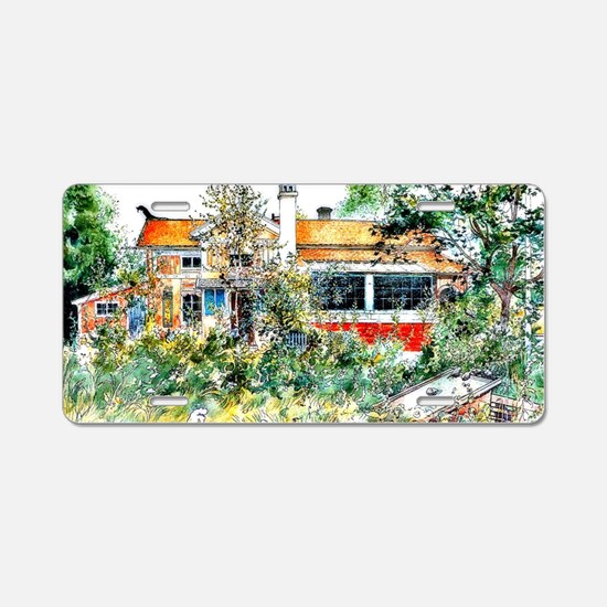 Carl Larsson, The Cottage,  Aluminum License Plate