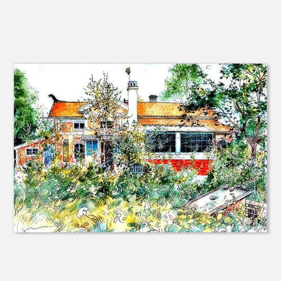 Carl Larsson, The Cottage Postcards (Package of 8)