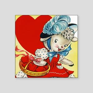 "Valentine001 Square Sticker 3"" x 3"""