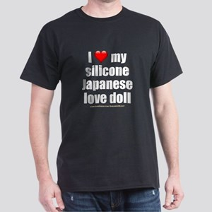 """I Love My Japanese Love Doll"" Dark T-Shirt"