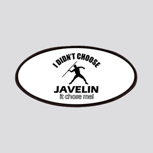 I didn't choose javelin Patches