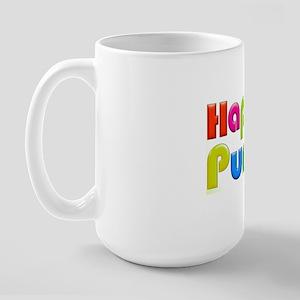 HappyPurim-TXT-crd-v3-wbg Large Mug