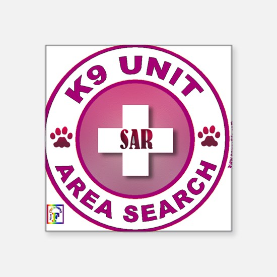 Area Search Circle Sticker