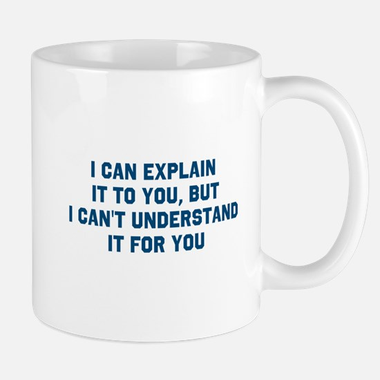 Blue understand Mugs