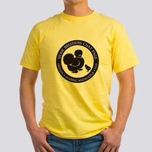 Silkie Breeders Chat Page Yellow T-Shirt