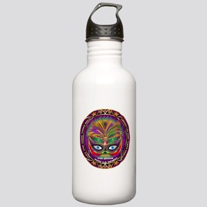 Mardi Gras Queen 8 Stainless Water Bottle 1.0L