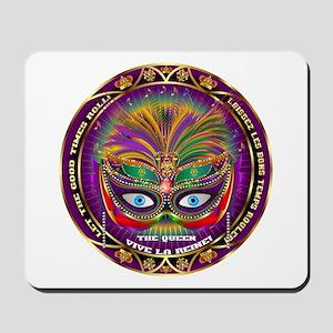 Mardi Gras Queen 8 Mousepad