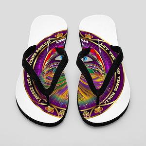 Mardi Gras Queen 8 Flip Flops