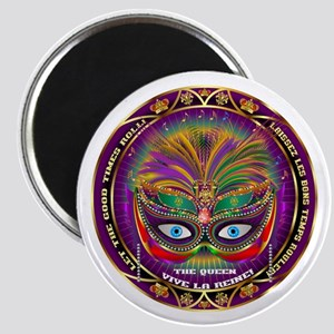 Mardi Gras Queen 8 Magnet