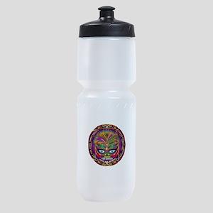Mardi Gras Queen 8 Sports Bottle