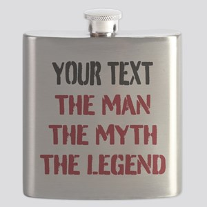 Man Myth Legend | Personalized Flask