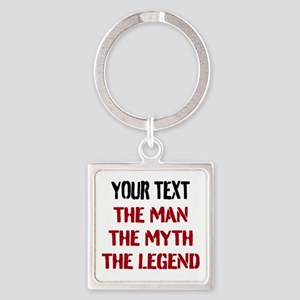 Man Myth Legend | Personalized Keychains