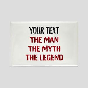 Man Myth Legend | Personalized Magnets
