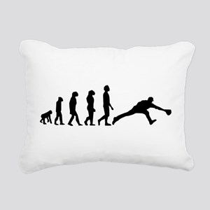 Baseball Fielder Evolution Rectangular Canvas Pill
