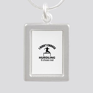 I didn't choose HURDLING Silver Portrait Necklace