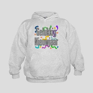 Gelukkig Nieuwjaar Kids Shirt Hoodie