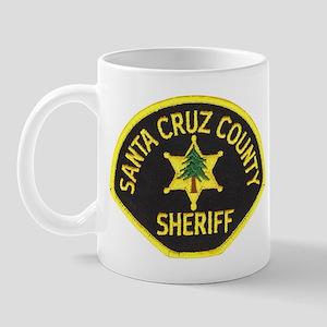 Santa Cruz Sheriff Mug