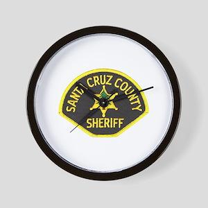 Santa Cruz Sheriff Wall Clock