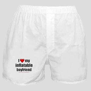 """Love My Inflatable Boyfriend"" Boxer Shorts"