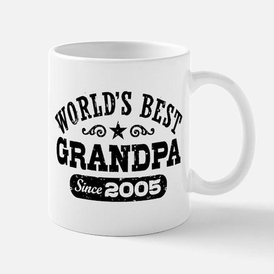 World's Best Grandpa Since 2005 Mug