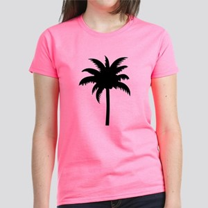 Palm tree Women's Dark T-Shirt