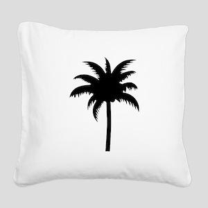 Palm tree Square Canvas Pillow