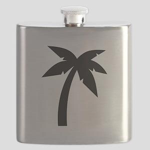 Palm icon symbol Flask
