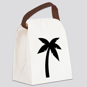 Palm icon symbol Canvas Lunch Bag