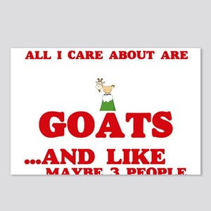 All I care about are Goat Postcards (Package of 8)