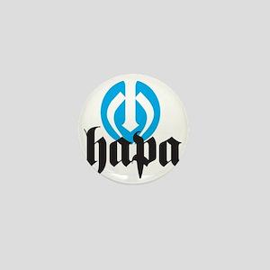 Hapa Logo Mini Button