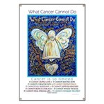 Blue & Gold Cancer Angel Banner