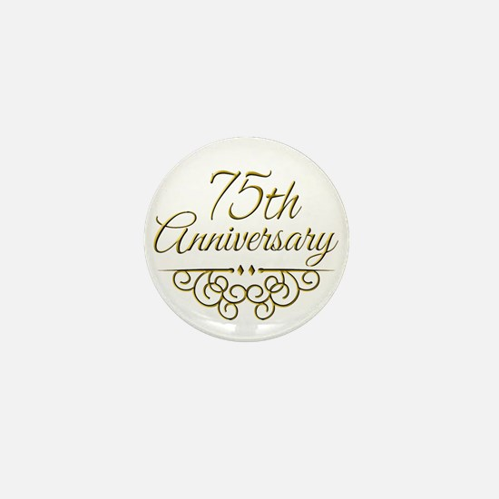 75th Anniversary Mini Button