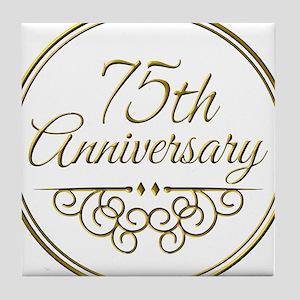 75th Anniversary Tile Coaster