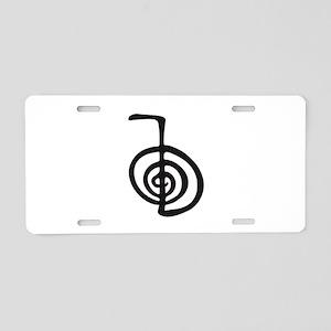 Reiki Power Symbol - cho ku rei Aluminum License P