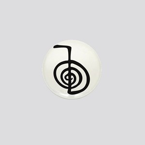 Reiki Power Symbol - cho ku rei Mini Button