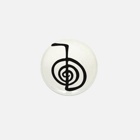 Reiki Power Symbol - cho ku rei Mini Button
