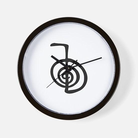 Reiki Power Symbol - cho ku rei Wall Clock