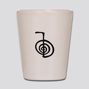 Reiki Power Symbol - cho ku rei Shot Glass