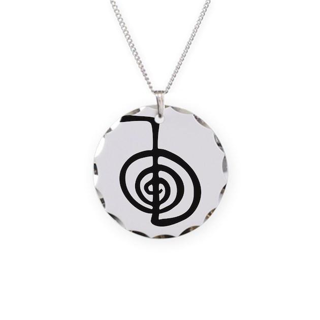 Reiki Power Symbol Cho Ku Rei Necklace By Admincp49789583