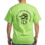 Logo on Back ONLY Green T-Shirt
