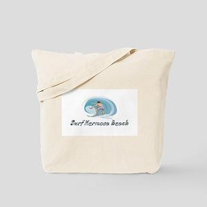 Surf Hermosa Beach, Californi Tote Bag