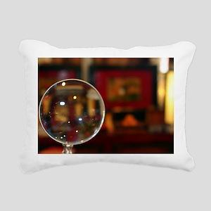 Magnifying Glass Rectangular Canvas Pillow