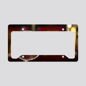 Magnifying Glass License Plate Holder