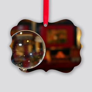 Magnifying Glass Picture Ornament